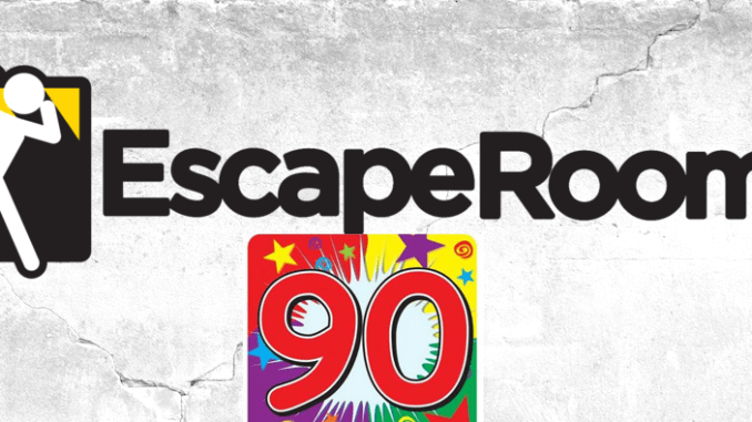 EscapeRoom - Tie roky 90-te